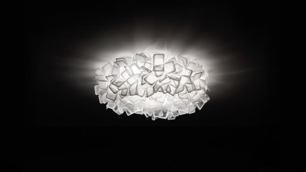 CLIZIA ceiling-wall MEDIUM WHITE - da € 250 a € 175
